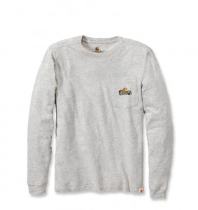 Koszulka Carhartt Woodsman Long Sleeve Oatmeal Heather